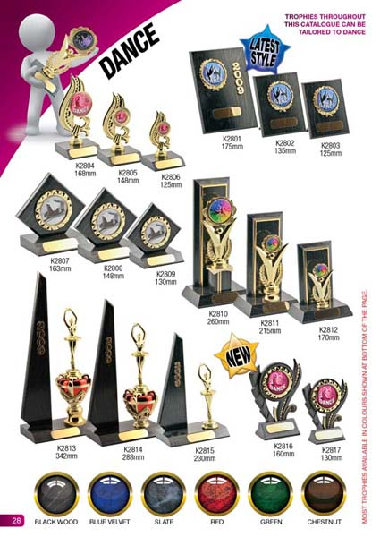 Dance Trophies 1