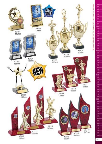 Dance Trophies 4