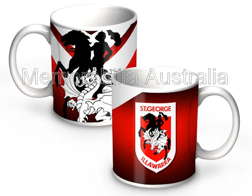 Dragons NRL 11oz Ceramic Mug