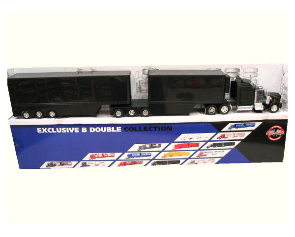 1:32   Kenworth B-Double Truck - Black (Only 1 pc available)