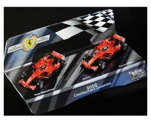 1:43 F1 Elite Ferrari 2008 Constructors Championship