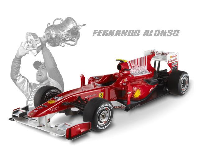 1:18 F1 Elite Ferrari LE  F10-Alonso-Bahrain GP  2010