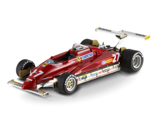 1:43 F1 Elite Ferrari 126 C2-Villeneuve-USA-West GP 1982