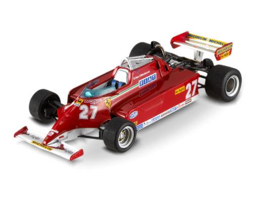 1:43 F1 Elite Ferrari 126 CK-Villeneuve - Monaco GP 1981