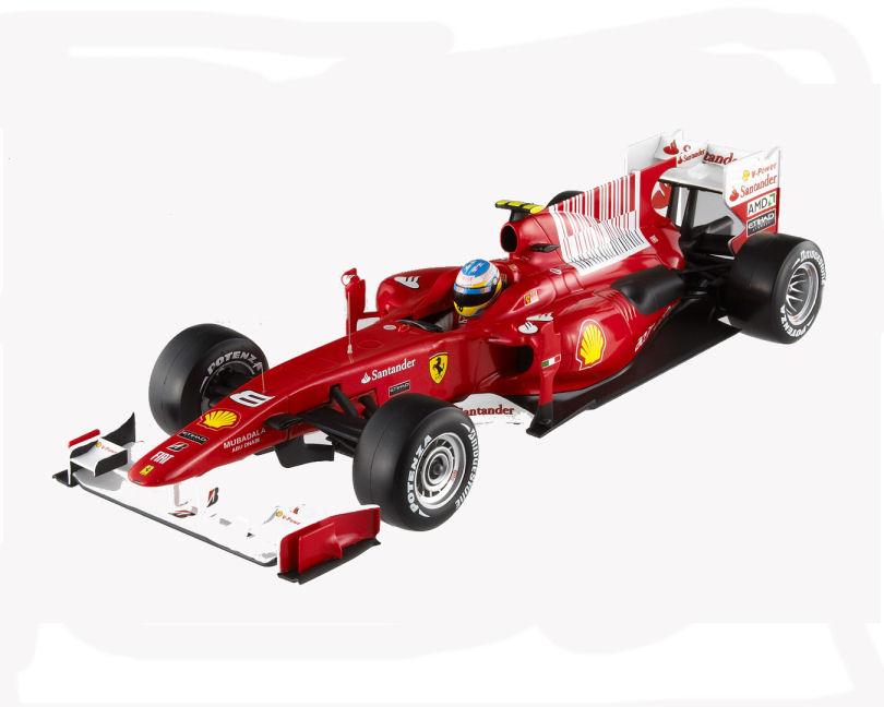 1:18  2010 F1  Ferrari Alonso
