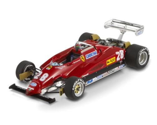 1:43 F1 Elite Ferrari 126 C2-Andretti-Italy GP 1982