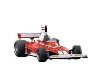 1:43 F1 Elite Ferrari 312 T-Lauda-South Africa G