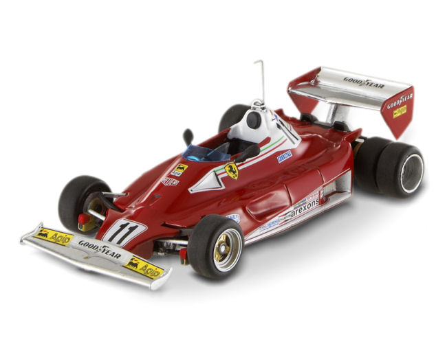 1:43 F1 Elite Ferrari 312 T2-Lauda-6 Wheels Test