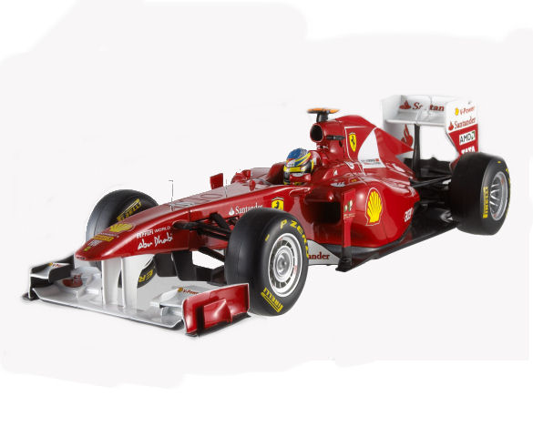 1:43 F1 Foundation Ferrari Alonso 2011