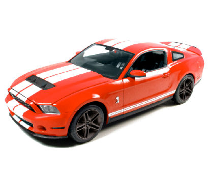 1:18  2010 Ford Shelby Mustang GT 500 Torch
