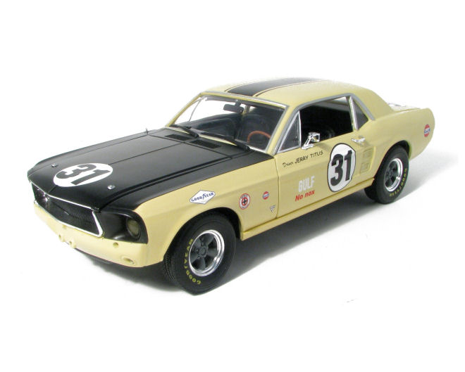 1:18  1967 Ford  Mustang #31 Jerry Titus Racing