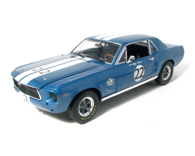 1:18  1967 Ford  Mustang #22 Bill Maier Racing