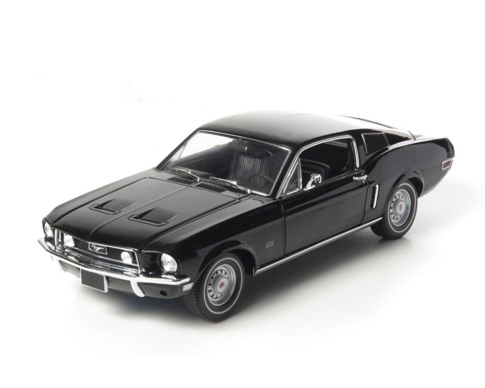 1:18  1968 Ford  Mustang GT Fastback - Black