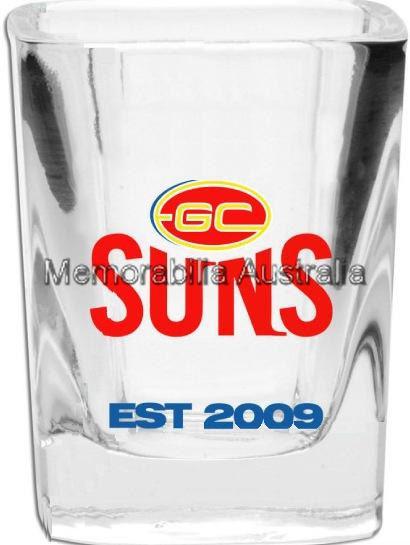 Gold Coast Suns Set of 2 Shot Glasses