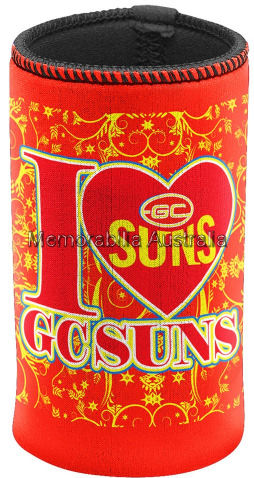 Gold Coast Suns Skinny Can Cooler