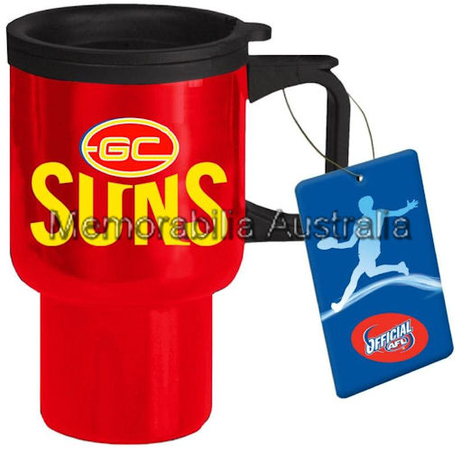 Gold Coast Suns Travel Mug
