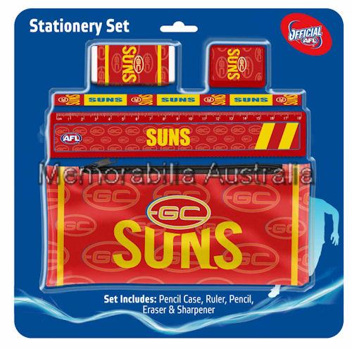 Gold Coast Suns Stationery Set