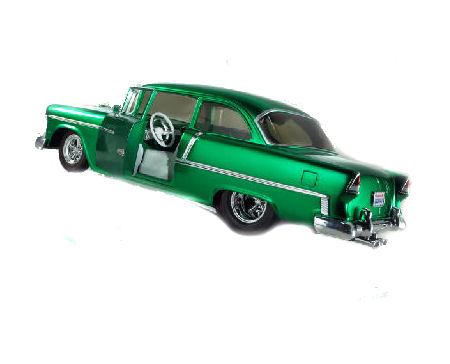 1.18  1955  Chev Belair - Green