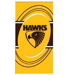 Hawthorn Hawks Beach Towel