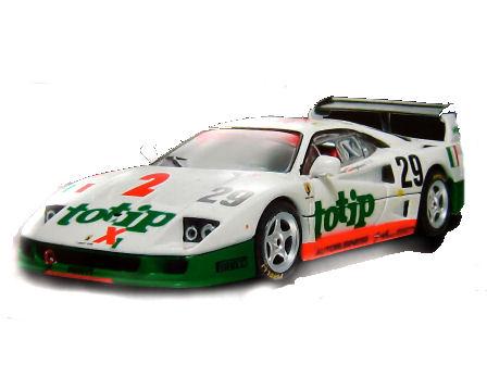 1:18 Elite Ferrari  F40 24 hrs Le Mans Totip #29
