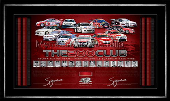 HRT 200 Club Signed