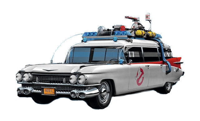 1 18 Elite Ghostbusters Ecto 1 1959 Cadillac Movie Movie Cars And