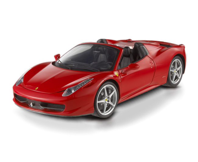 1:18 Elite Ferrari  458  Spider