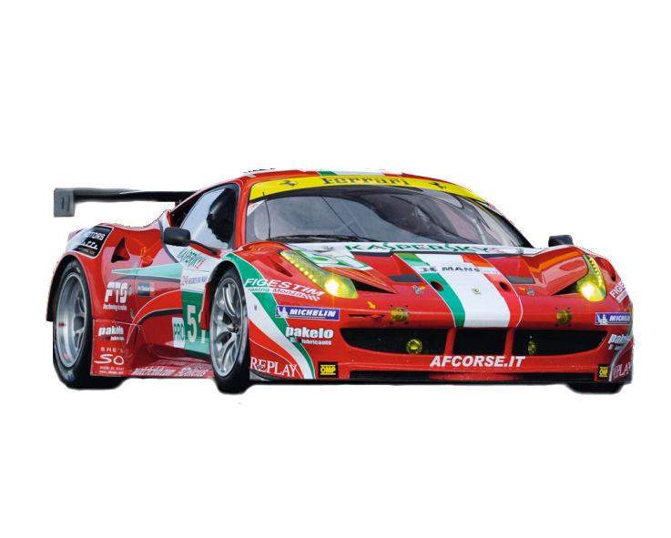 1:18 Elite Ferrari  458 Italia GT2  2011 LeMans
