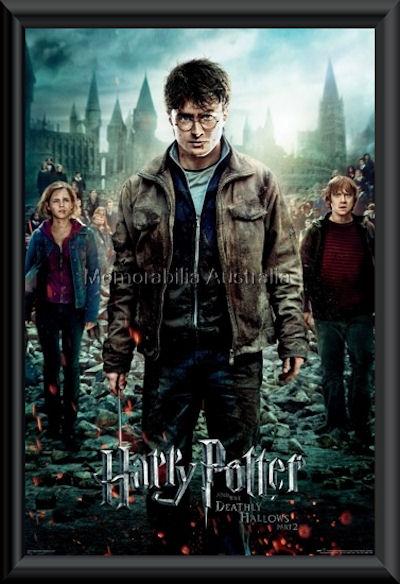 Harry Potter 7 Poster Framed