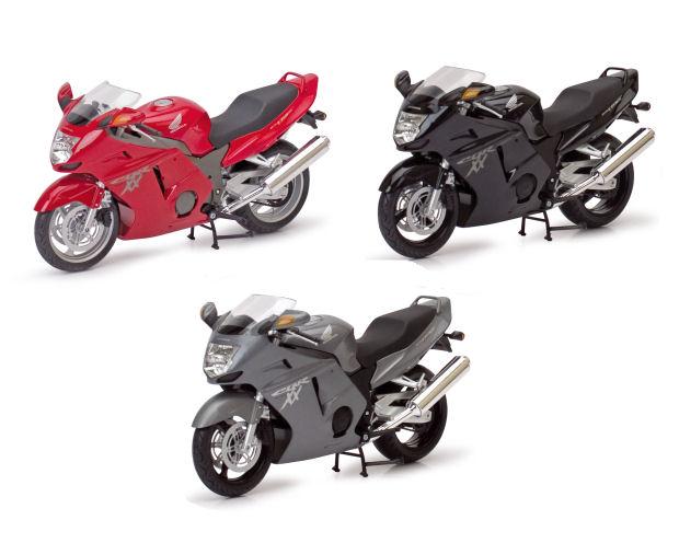 1:12  Honda CBR 1100 XX  Road Bike  3asst