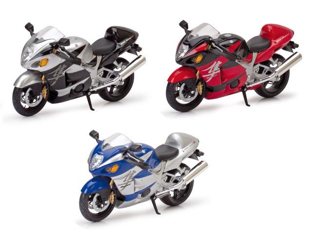 1:12  Suzuki GSX 1300R Road Bike  3asst