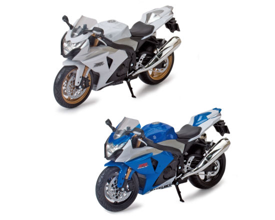 1:12  Suzuki GSX R1000 Road Bike  2 asst
