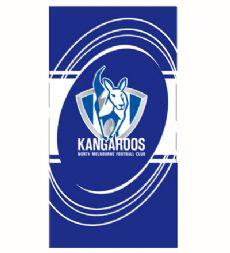 North Melbourne Kangaroos Beach Towel