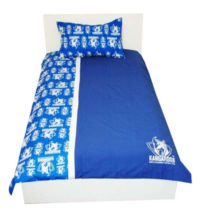 North Melbourne Kangaroos Doona Cover