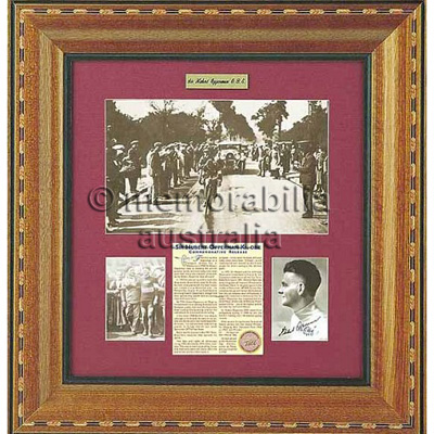 Sir Hubert Opperman Obe Commemorative Release