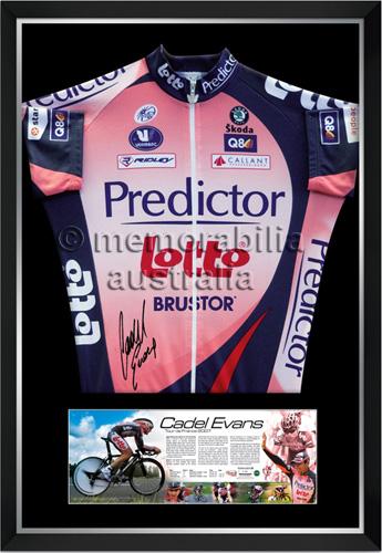 Cadel Evans Predictor-Lotto Jersey