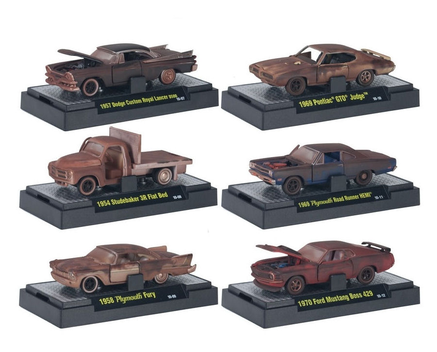 1:64 Auto Projects Mix 2  6pcs