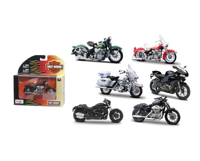 1:18  Series 25 Harley Davidson 12pcs  Bikes  6 asst