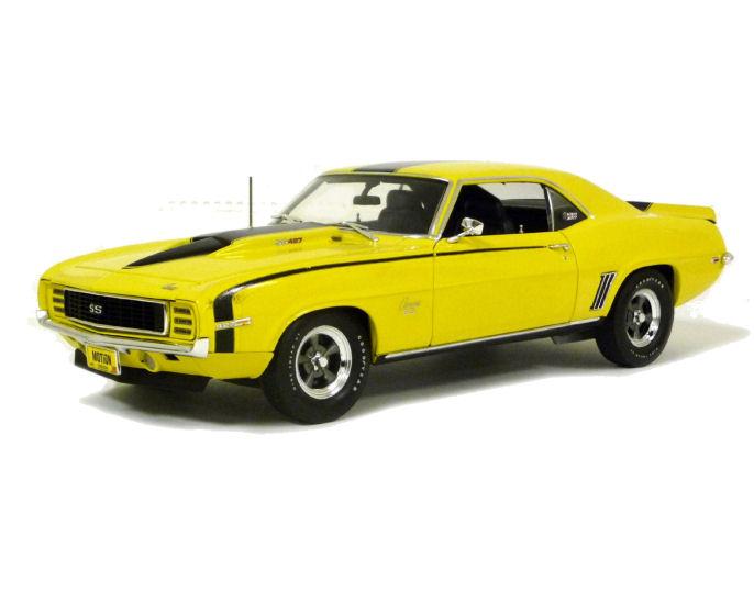 1:18  1969  Baldwin Chev Camaro - Yellow