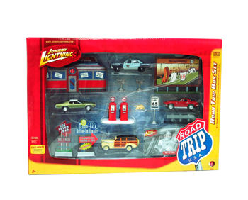 1:64 Johnny Lightning Road Trip Box Set
