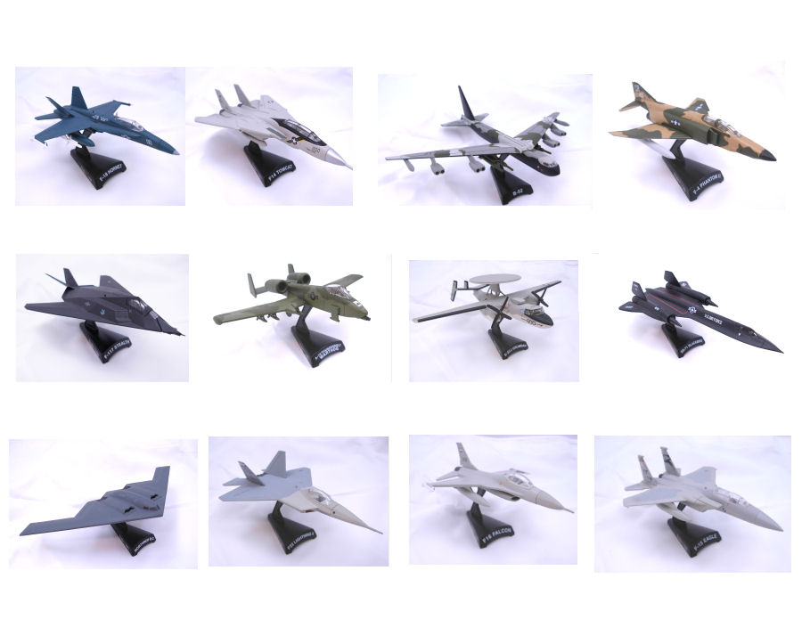 Plane American Fighter Collection  12pcs