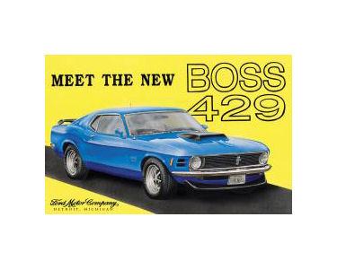 Boss 429 Mustang Tin Sign