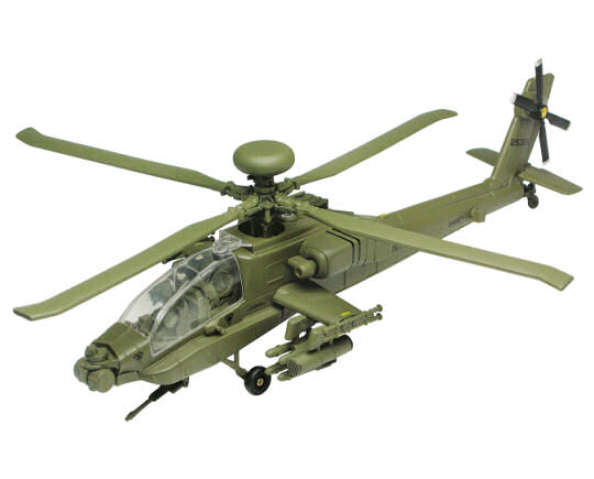 1:48 Boeing AH-Apache Longbow Helicopter