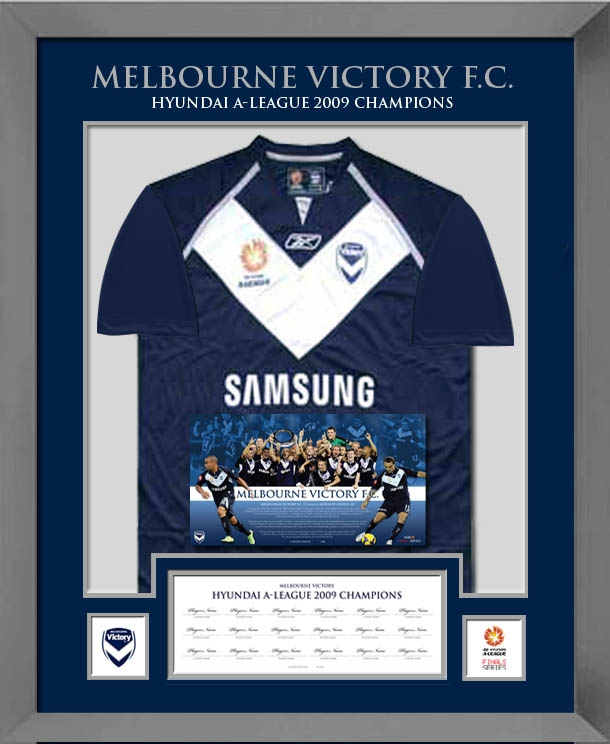Melbourne Victory 2009 Champions Signed Shirt