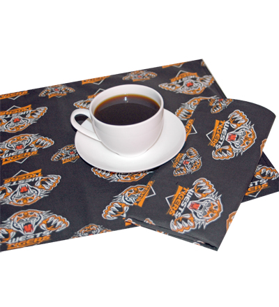 West Tigers Napkins
