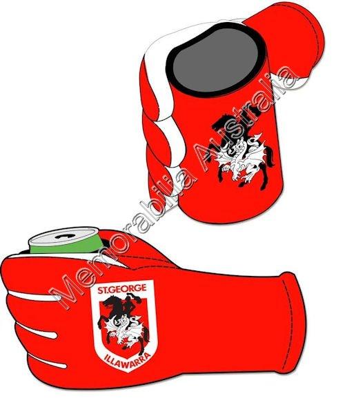 St George Illawarra Dragons NRL  Stubby Glove