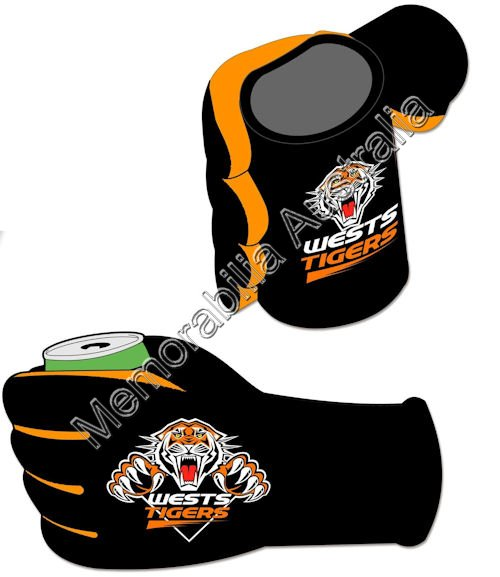 Wests Tigers NRL  Stubby Glove