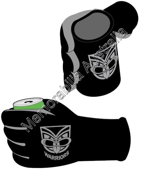 New Zealand Warriors NRL  Stubby Glove