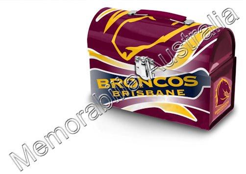 Broncos NRL Tin Tote