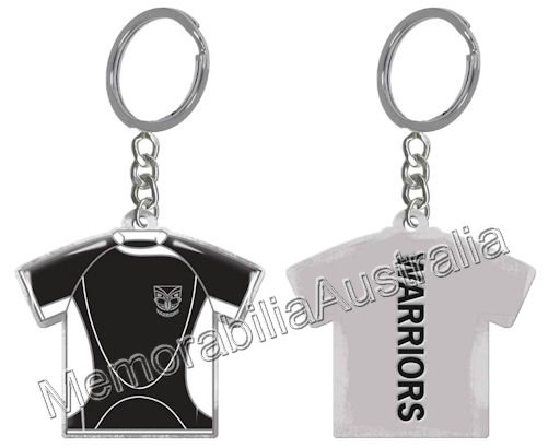 New Zealand Warriors NRL Jersey Enamel Keyring